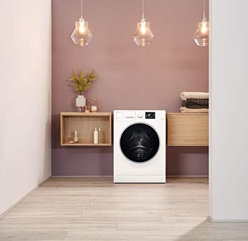 Bauknecht WM Steam 8 100 Waschmaschine Frontlader/A+++/1400 UpM/8 kg/langlebiger Motor/Antiflecken 100/Dampf-Option pflegt Wäsche hygienisch rein/EcoTech Mengenautomatik - 12