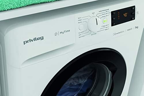 Privileg PWF MT 61483 Waschmaschine Frontlader/A+++/ 1351 UpM/ 6 kg/Startzeitvorwahl/Kurzprogramme/Eco-Motor/Wolle-Programm/Mehrfachwasserschutz , Weiss - 13