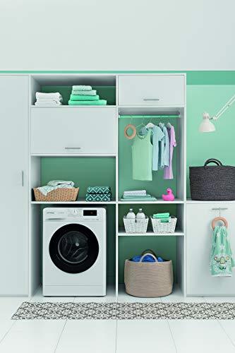 Privileg PWF MT 61483 Waschmaschine Frontlader/A+++/ 1351 UpM/ 6 kg/Startzeitvorwahl/Kurzprogramme/Eco-Motor/Wolle-Programm/Mehrfachwasserschutz , Weiss - 5
