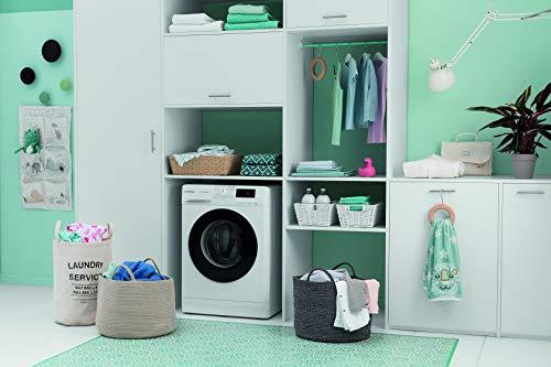Privileg PWF MT 61483 Waschmaschine Frontlader/A+++/ 1351 UpM/ 6 kg/Startzeitvorwahl/Kurzprogramme/Eco-Motor/Wolle-Programm/Mehrfachwasserschutz , Weiss - 8