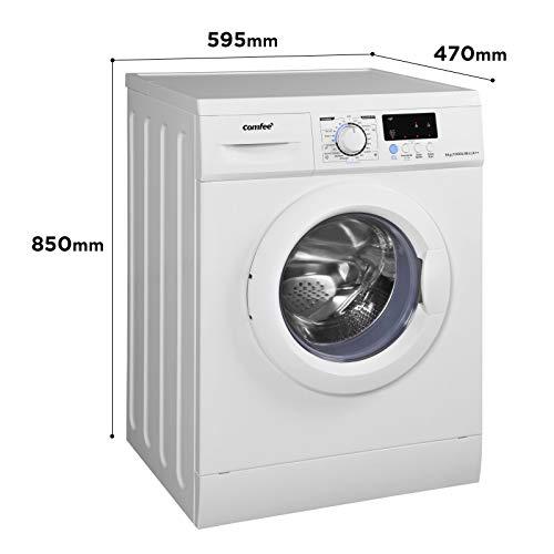 Comfee WM 6010 A++ Waschmaschine / 6KG / EEK: A++ / 23 Programme/Trommelreinigung/Easy Wash/Kurzwäsche/Extra Spülen / 1000 U/min [Energieklasse A++] - 6