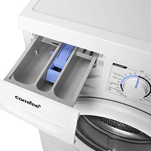 Comfee WM 6010 A++ Waschmaschine / 6KG / EEK: A++ / 23 Programme/Trommelreinigung/Easy Wash/Kurzwäsche/Extra Spülen / 1000 U/min [Energieklasse A++] - 7