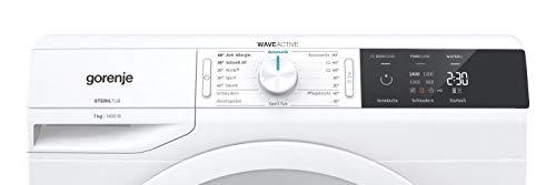 Gorenje WE 74S3 P Waschmaschine/Weiß/A+++/7 kg/Automatikprogramm/Schnellwaschprogramm/Energiesparmodus - 5