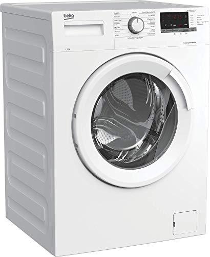 Beko WML61433NPS1 Waschmaschine/Restzeitanzeige und Schleuderwahl/ 1400 U/min/Pet Hair Removal/ 6 kg/nur 44 cm tief - platzsparend, Weiß - 2