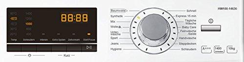 Haier HW100-14636 Waschmaschine FL/A+++/220 kWh/Jahr/1400 UpM/10 kg/Aqua Protect Schlauch - 2