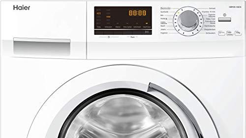 Haier HW100-14636 Waschmaschine FL/A+++/220 kWh/Jahr/1400 UpM/10 kg/Aqua Protect Schlauch - 5