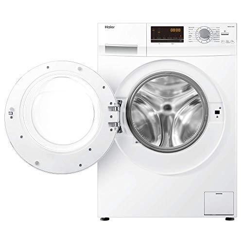 Haier HW100-14636 Waschmaschine FL/A+++/220 kWh/Jahr/1400 UpM/10 kg/Aqua Protect Schlauch - 6