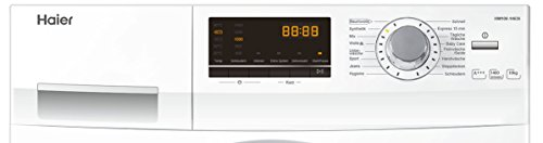 Haier HW100-14636 Waschmaschine FL/A+++/220 kWh/Jahr/1400 UpM/10 kg/Aqua Protect Schlauch - 7