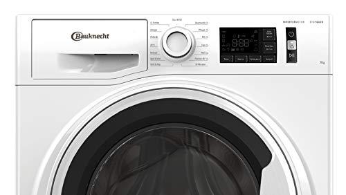 Bauknecht W Active 711 C Waschmaschine Frontlader/ 7kg/ kraftvolle Fleckentfernung/ Dampf Programme/ Steam Hygiene Option/ Steam Refresh/ Stopp&Add Funktion/ Dynamic Inverter-Motor, Weiss - 5
