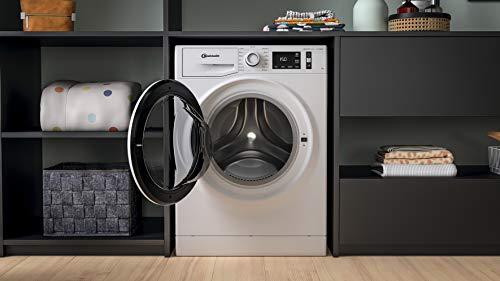Bauknecht W Active 711 C Waschmaschine Frontlader/ 7kg/ kraftvolle Fleckentfernung/ Dampf Programme/ Steam Hygiene Option/ Steam Refresh/ Stopp&Add Funktion/ Dynamic Inverter-Motor, Weiss - 10