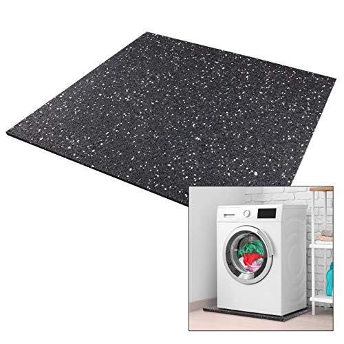 Premium Antivibrationsmatte 60x60x1cm aus Deutschland für Waschmaschine Trockner etc. - zuschneidbar - by kör4u