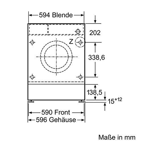 Siemens WM14G400 iQ500 Waschmaschine / 8kg / A+++ / 1400 U/min / Outdoor Programm / varioSpeed Funktion / Nachlegefunktion / aquaStop - 2