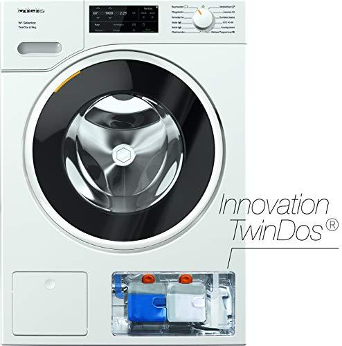 Miele WSG 663 WCS Frontlader Waschmaschine / 9 kg / automatisches Dosiersystem - TwinDos / Vorbügeln / Miele@home / Watercontrol-System / Hygiene-Option - AllergoWash / 1400 U/min / A+++