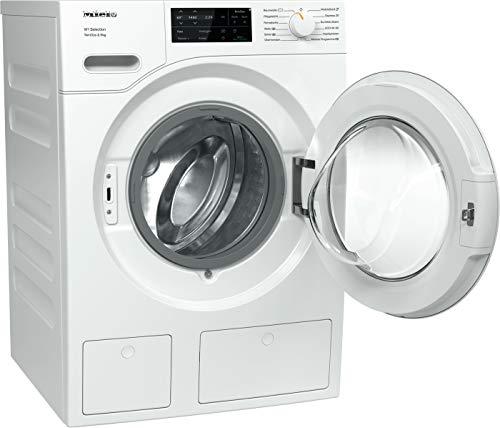 Miele WSG 663 WCS Frontlader Waschmaschine / 9 kg / automatisches Dosiersystem - TwinDos / Vorbügeln / Miele@home / Watercontrol-System / Hygiene-Option - AllergoWash / 1400 U/min / A+++ - 3
