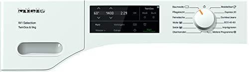 Miele WSG 663 WCS Frontlader Waschmaschine / 9 kg / automatisches Dosiersystem - TwinDos / Vorbügeln / Miele@home / Watercontrol-System / Hygiene-Option - AllergoWash / 1400 U/min / A+++ - 5
