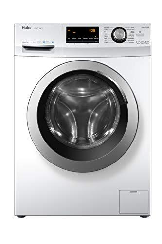 Haier HW80-BP14636 Waschmaschine Frontlader/A+++/8 kg/1400 UpM/Vollwasserschutz - 2
