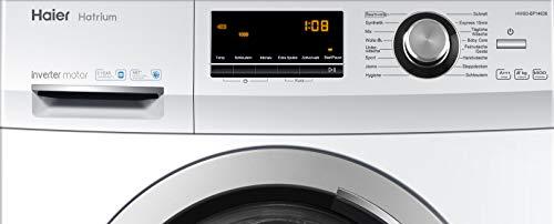 Haier HW80-BP14636 Waschmaschine Frontlader/A+++/8 kg/1400 UpM/Vollwasserschutz - 4