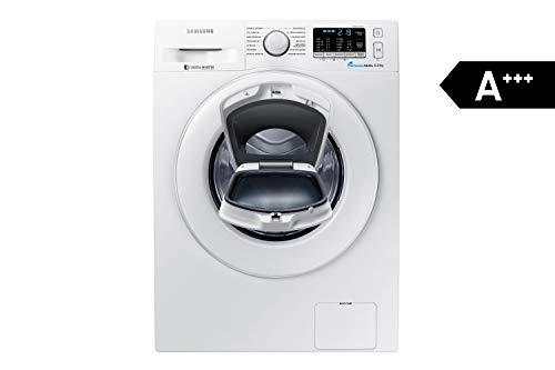 Samsung WW80K5400WW/EG Waschmaschine FL/A+++/116 kWh/Jahr/1400 UpM/8 kg/Add Wash/Smart Check/Digital Inverter Motor
