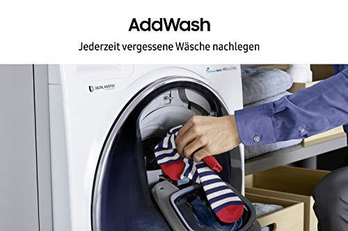 Samsung WW80K5400WW/EG Waschmaschine FL/A+++/116 kWh/Jahr/1400 UpM/8 kg/Add Wash/Smart Check/Digital Inverter Motor - 4