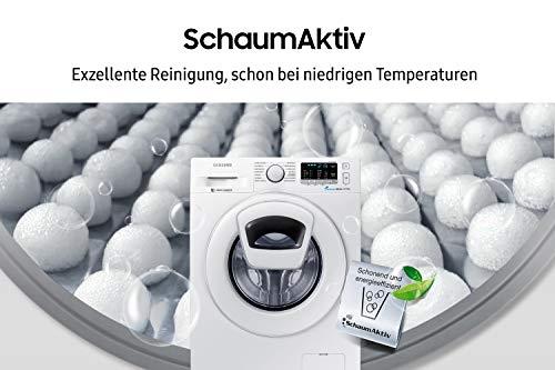 Samsung WW80K5400WW/EG Waschmaschine FL/A+++/116 kWh/Jahr/1400 UpM/8 kg/Add Wash/Smart Check/Digital Inverter Motor - 5