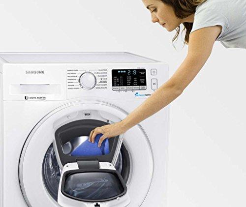 Samsung WW80K5400WW/EG Waschmaschine FL/A+++/116 kWh/Jahr/1400 UpM/8 kg/Add Wash/Smart Check/Digital Inverter Motor - 8