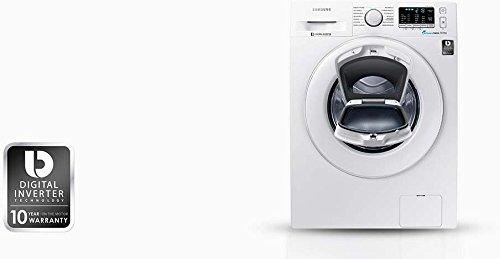 Samsung WW80K5400WW/EG Waschmaschine FL/A+++/116 kWh/Jahr/1400 UpM/8 kg/Add Wash/Smart Check/Digital Inverter Motor - 10