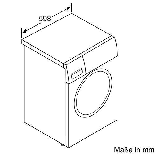 Siemens iQ700 WM16W540 Waschmaschine / 8,00 kg / A+++ / 137 kWh / 1.600 U/min / Schnellwaschprogramm / Nachlegefunktion / aquaStop - 4