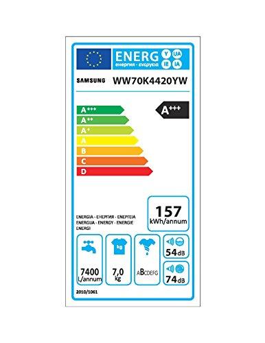 Samsung WW70K4420YW/EG AddWash Waschmaschine Frontlader/A+++/1400UpM/7 kg/AddWash/SmartCheck/weiß - 12
