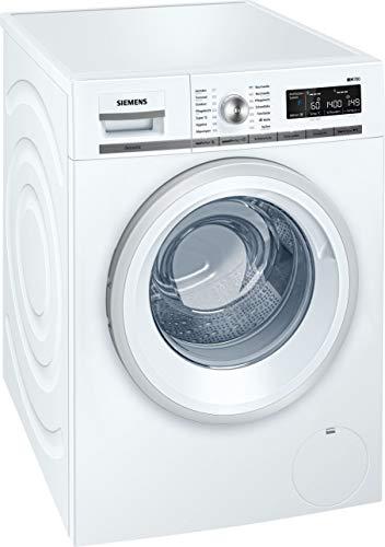 Siemens iQ700 WM14W570 Waschmaschine / 8,00 kg / A+++ / 196 kWh / 1.400 U/min / Schnellwaschprogramm / Nachlegefunktion / aquaStop