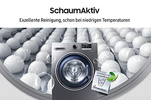 Samsung WW70J5435FX/EG Waschmaschine Frontlader/A+++/1400 UpM/7kg/85 cm Höhe/Digital Inverter Motor/grau - 2
