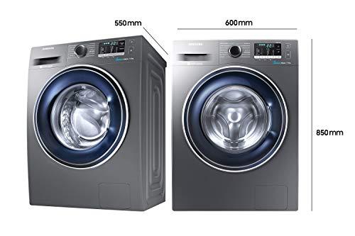 Samsung WW70J5435FX/EG Waschmaschine Frontlader/A+++/1400 UpM/7kg/85 cm Höhe/Digital Inverter Motor/grau - 4