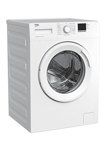 Beko WML 61023 N Waschmaschine Frontlader/6kg/A+++/1000 UpM/Mengenautomatik/elektronische Kindersicherung/15 Programme/Startzeitvorwahl/Express-Programm 30 Minuten - 3