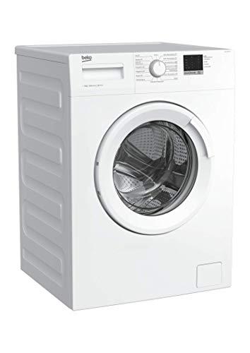 Beko WML 61023 N Waschmaschine Frontlader/6kg/A+++/1000 UpM/Mengenautomatik/elektronische Kindersicherung/15 Programme/Startzeitvorwahl/Express-Programm 30 Minuten - 4