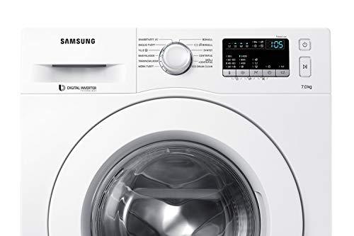 Samsung WW70J44A3MW/EG Waschmaschine Frontlader / 7kg / 85 cm Höhe / ECO-Trommelreinigung / Smart Check / Vollwasserschutz / Digital Inverter Motor - 3