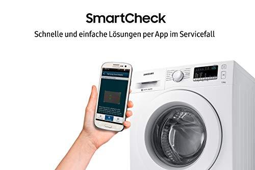 Samsung WW70J44A3MW/EG Waschmaschine Frontlader / 7kg / 85 cm Höhe / ECO-Trommelreinigung / Smart Check / Vollwasserschutz / Digital Inverter Motor - 6