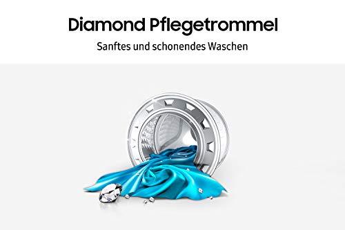 Samsung WW70J44A3MW/EG Waschmaschine Frontlader / 7kg / 85 cm Höhe / ECO-Trommelreinigung / Smart Check / Vollwasserschutz / Digital Inverter Motor - 8