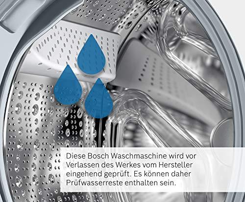 Bosch WAW28570 Serie 8 Waschmaschine Frontlader / A+++ / 196 kWh/Jahr / 1360 UpM / 8 kg / Weiß / Fleckenautomatik / Trommelreinigung mit Erinnerungsfunktion - 3
