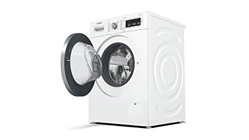 Bosch WAW28570 Serie 8 Waschmaschine Frontlader / A+++ / 196 kWh/Jahr / 1360 UpM / 8 kg / Weiß / Fleckenautomatik / Trommelreinigung mit Erinnerungsfunktion - 4