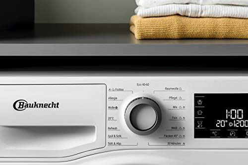 Bauknecht W Active 823 PS Waschmaschine Frontlader/ 8kg / Active Care Color+ / kraftvolle Fleckentfernung / Dampf Programme / Steam Hygiene Option / Steam Refresh / ProSilent-Motor / Stop&Add - 7