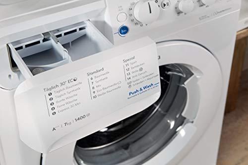 Privileg PWF X 743 Waschmaschine Frontlader / A+++ / 1400 UpM / 7 kg /Mengenautomatik/Startzeitvorwahl/Maschinenreinigung/Inverter Motor/Wasserschutz/Antiflecken-Option/Bügelleicht-Option/Daunen - 4