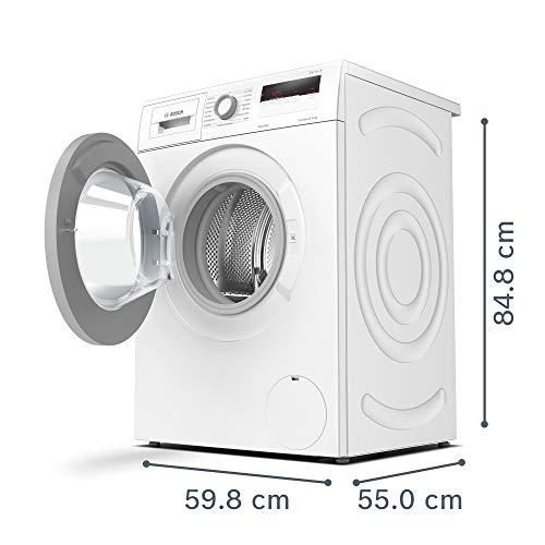 Bosch WAN281KA2 Serie 4 Waschmaschine Frontlader / A+++ / 157 kWh/Jahr / 1388 UpM / 7 kg / Weiß / AllergiePlus / ActiveWater™ Mengenautomatik - 2