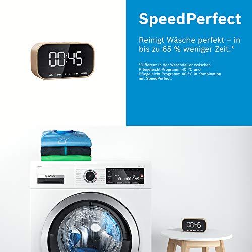 Bosch WAN281KA2 Serie 4 Waschmaschine Frontlader / A+++ / 157 kWh/Jahr / 1388 UpM / 7 kg / Weiß / AllergiePlus / ActiveWater™ Mengenautomatik - 6