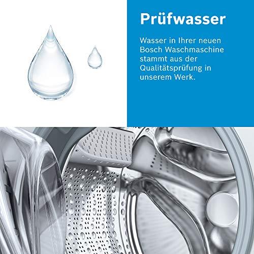 Bosch WAN281KA2 Serie 4 Waschmaschine Frontlader / A+++ / 157 kWh/Jahr / 1388 UpM / 7 kg / Weiß / AllergiePlus / ActiveWater™ Mengenautomatik - 8