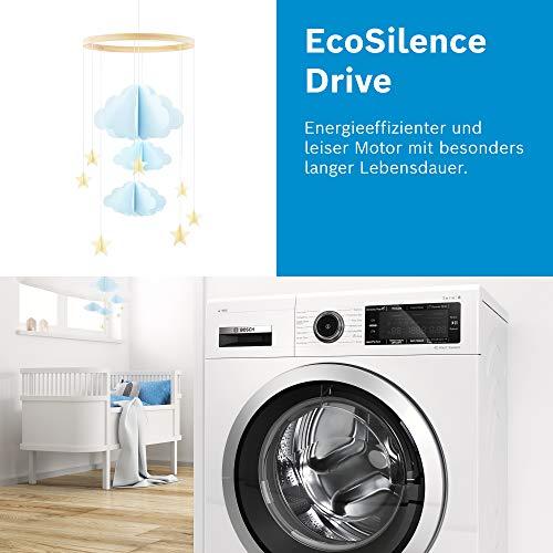 Bosch WAN281KA2 Serie 4 Waschmaschine Frontlader / A+++ / 157 kWh/Jahr / 1388 UpM / 7 kg / Weiß / AllergiePlus / ActiveWater™ Mengenautomatik - 10